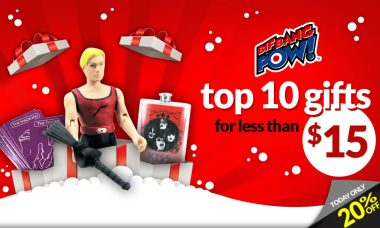 Top 10 Holiday Gifts for Less Than $15 from Bif Bang Pow!