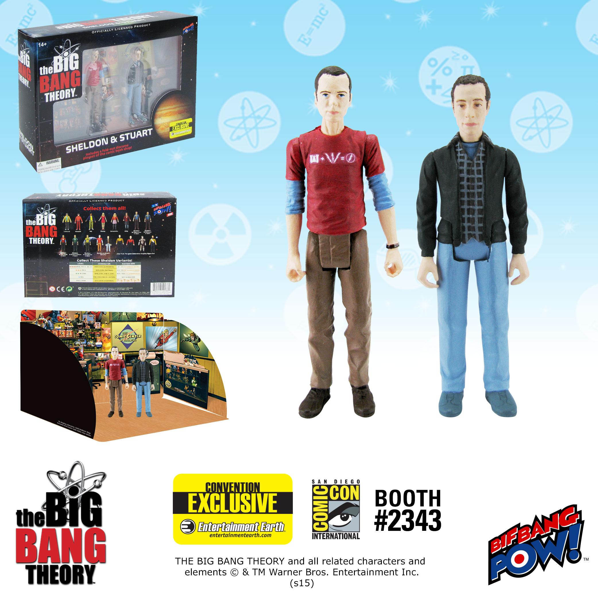 TBBT Stuart and Sheldon Set