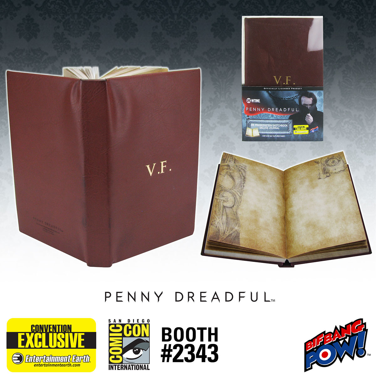 Penny Dreadful Frankenstein Journal