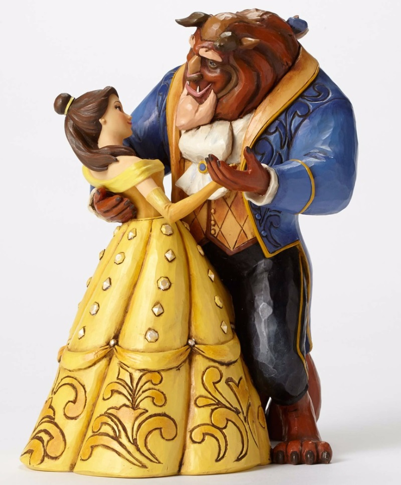 Belle and Beast Statue