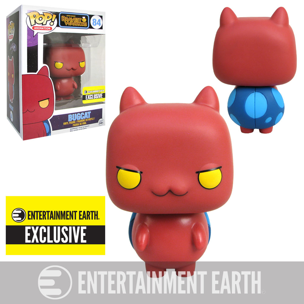 Our Second Bravest Warriors Exclusive Pop Vinyl Figure Is