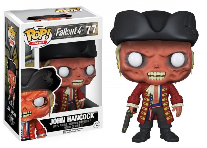 Fallout 4 John Hancock Pop! Vinyl