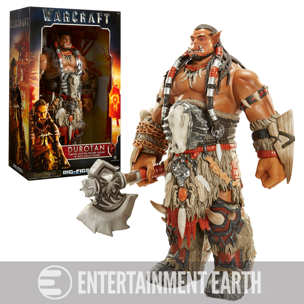 Warcraft Durotan Deluxe Figure Blizzcon Exclusive