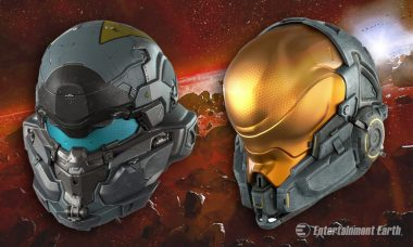 Gear Up to Battle the Alien Invasion with these Halo 5 Prop Replica Helmets