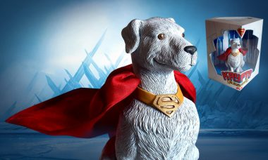 Kryptonian Canine is One of a Kind Superman Statue