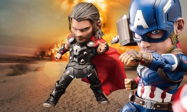 Avengers Join the Action as New Egg Attack Figures