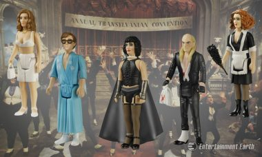Visit Transexual Transylvania with Rocky Horror ReAction Figures