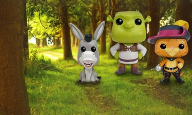 Once Upon Another Time, There Were Shrek Pop! Vinyl Figures