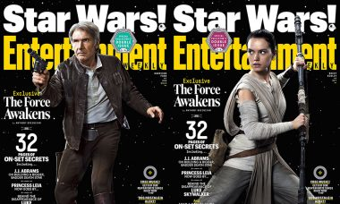 Star Wars: The Force Awakens Set to Break Box Office Records, Lands on the Cover of EW