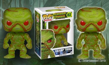 Capture the Swamp Thing as New Pop! Vinyl Exclusive Figures