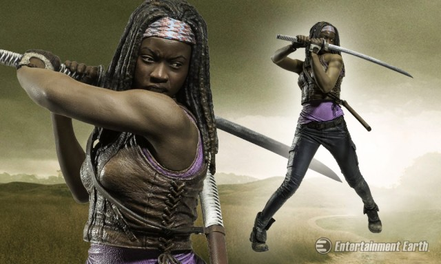The Walking Dead Michonne 10-Inch Deluxe Action Figure
