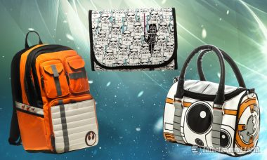 Pack Your Belongings in a New Star Wars Bag and Start Your Journey