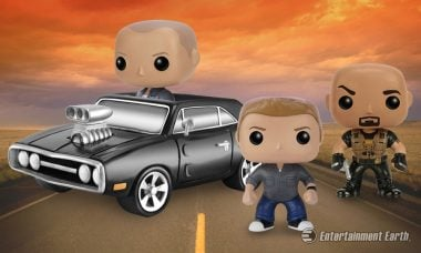 The Fast and Furious Goes Full Throttle with Pop! Vinyl Figures and Vehicle