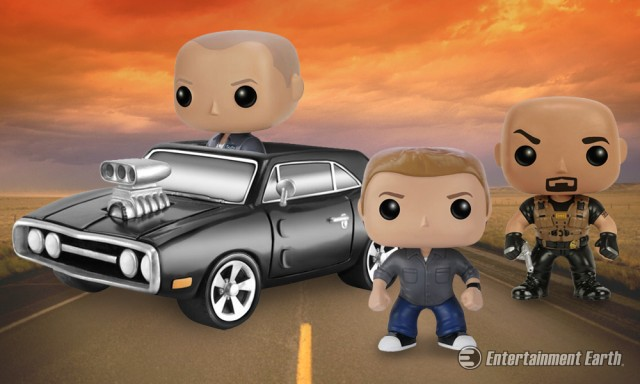Fast and Furious Pop! Vinyl Figures from Funko