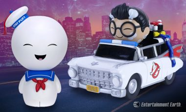 Ghostbusters' Stay Puft and Ecto-1 Join the Squad as Dorbz Vinyl Figures