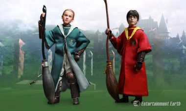 Will Gryffindor or Slytherin Win with New Harry Potter Quidditch Figures?