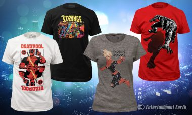 Which Marvel Hero or Villain Will You Support with New, Awesome T-Shirts?