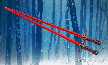 These Kylo Ren Lightsaber Chopsticks Will Draw You to the Dark Side