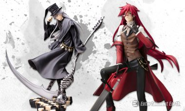 Tip Your Hat to These Glorious Black Butler: Book of Circus ArtFXJ Statues