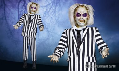 Morbid Enterprises Life-Size Animated Beetlejuice Statue Will Leave Those Unwanted House Guests with a Scare