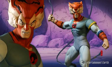 The Cat's Out the Bag with This ThunderCats Tygra Action Figure