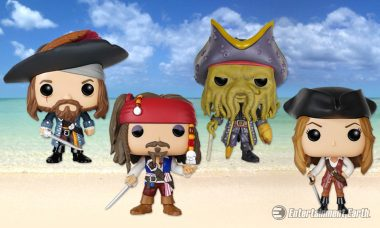 Yo Ho, Yo Ho, It's a Pirate Life for You with New Pop! Vinyl Figures