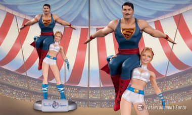 Power Up with the New DC Comics Bombshells Power Girl and Superman Statue
