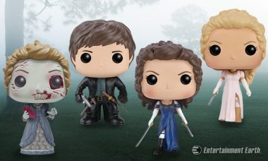 Don Your Dresses and Grab Your Swords with New Pride & Prejudice & Zombies Pop! Vinyls