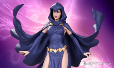New DC Comics Cover Girls Raven Statue Radiates with Charm