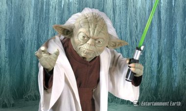Take Your Collection to New Heights You Will with Rubie's Star Wars Yoda Replica Life-Size Statue
