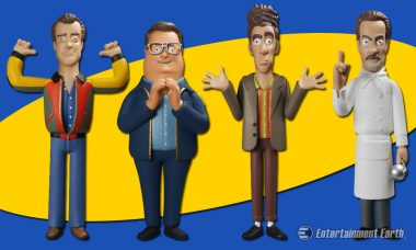 Relive the Greatest Moments of Seinfeld with Stylized Vinyl Idolz Figures