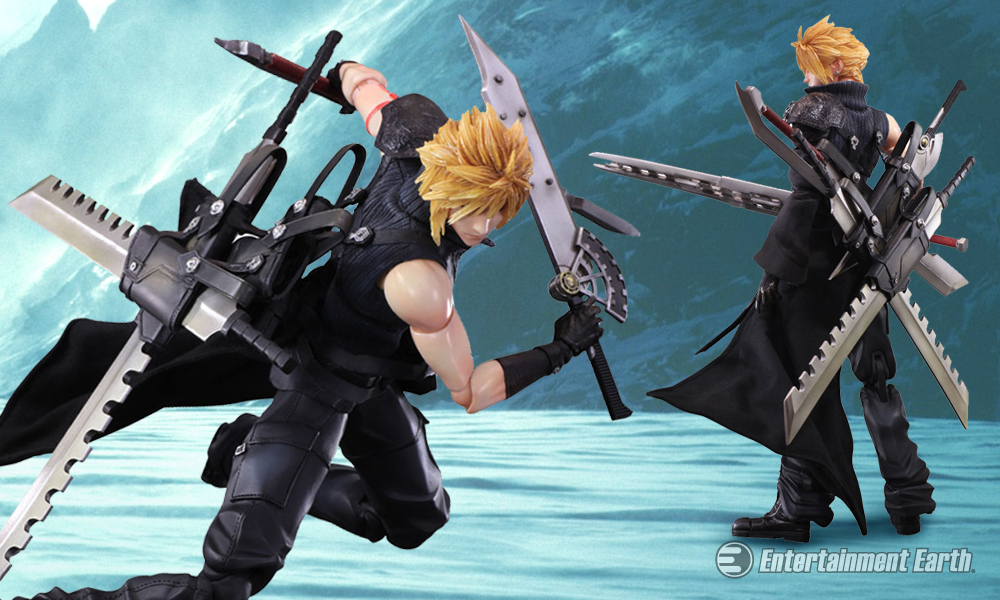 Final Fantasy Vii Cloud Strife Play Arts Kai