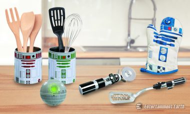 The Force Will Be Strong with Your Cooking with Various Star Wars Kitchenware