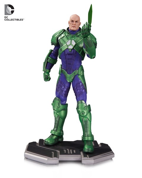 Lex Luthor Icons Statue
