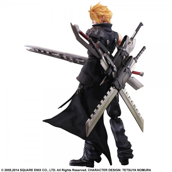 Cloud Strife Arms Himself As Final Fantasy Vii Play Arts