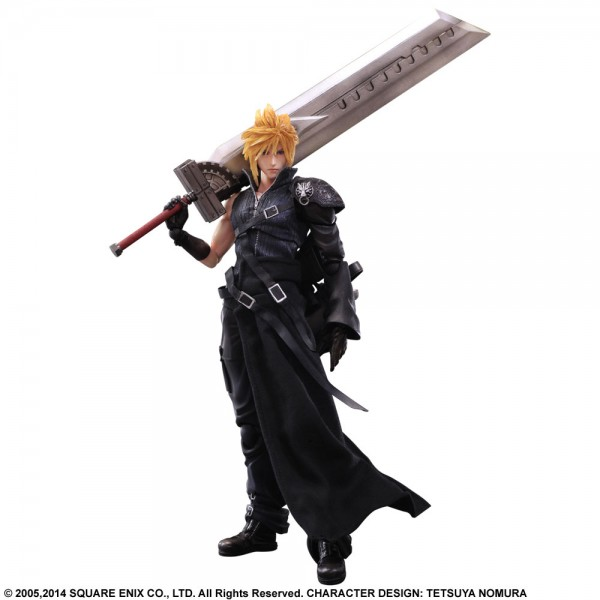 Final Fantasy VII Cloud Play Arts Kai