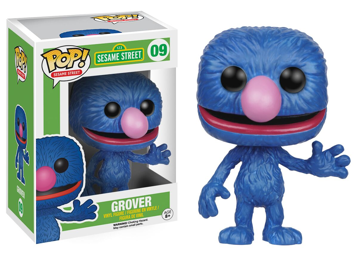 New Characters Added To The Funko Sesame Street Pop Vinyl