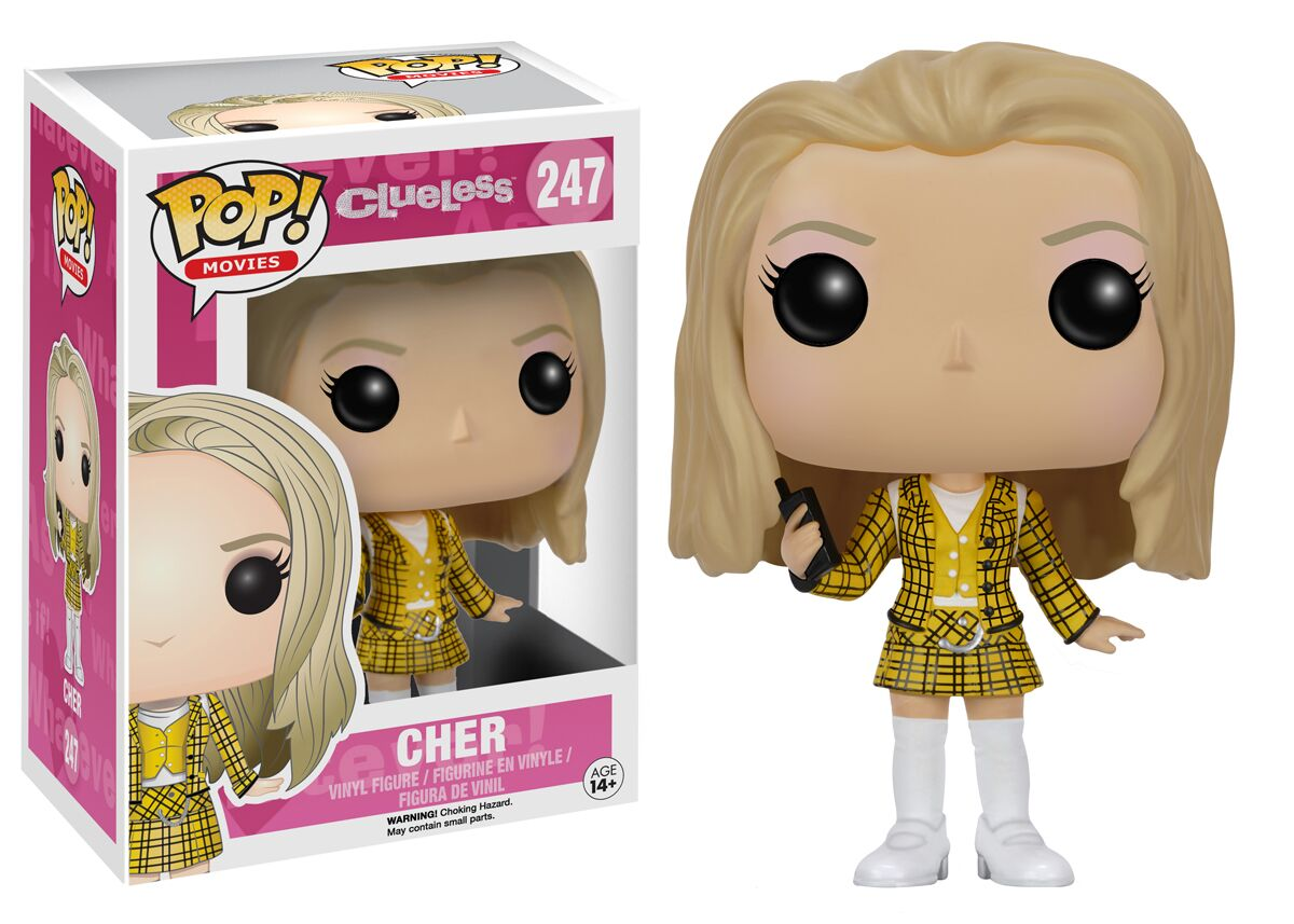Clothes popularity and new clueless pop vinyl figures for Vinyl les plus cher