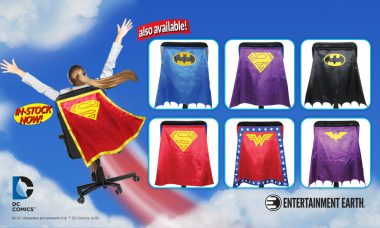 DC Comics SUPERGIRL™ Chair Cape™ by Entertainment Earth