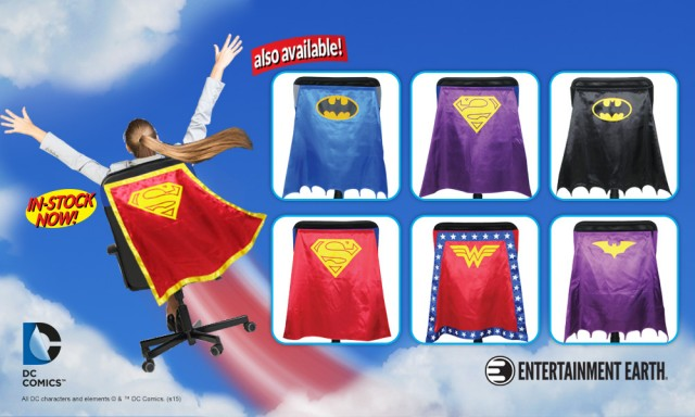 Supergirl Chair Cape Feature