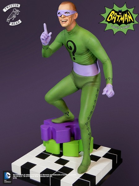 Batman 1966 Riddler Maquette
