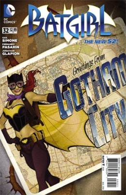 Batgirl Comic Cover
