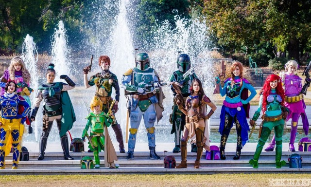 Disney Fett Cosplay Mashup