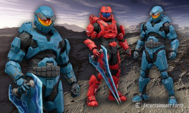 Red vs Blue? New Halo Mjolnir Deluxe ArtFX+ 2-Pack is Worthy