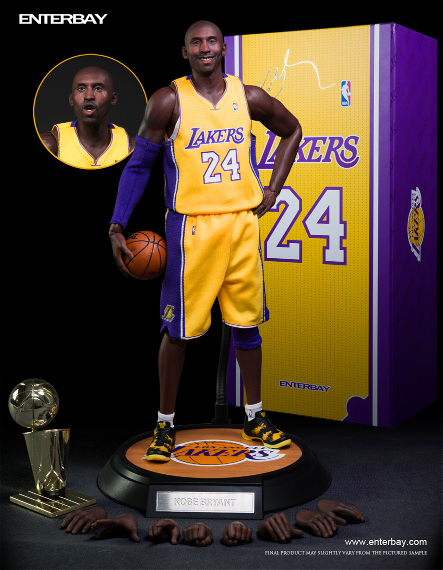 Kobe Bryant Immortalized As Real Masterpiece 1 6 Scale Figure