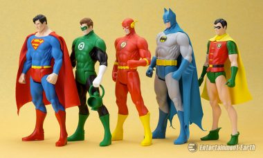 Super Powers Join Forces in ArtFX+ Collection from Kotobukiya