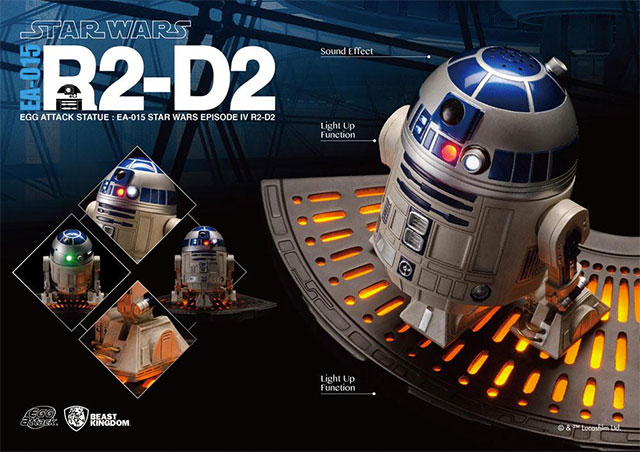 Star Wars R2-D2 Egg Attack Statue