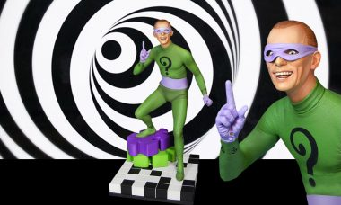 Frank Gorshin's Riddler Immortalized as Maquette Statue