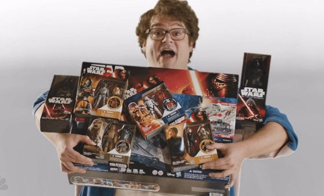 SNL's Star Wars Toy Commercial: For Ages 6 & Up... way up ...