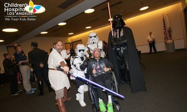 Mark Hamill Uses the Force for Good and Visits Children's Hospital LA with Star Wars: Force for Change